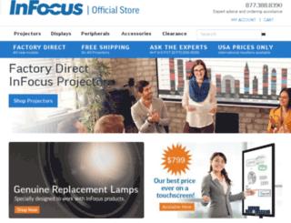 store.infocus.com screenshot