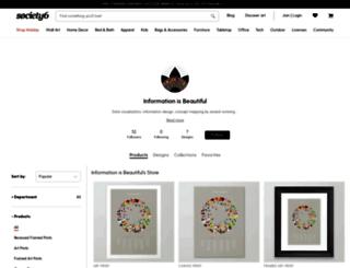store.informationisbeautiful.net screenshot