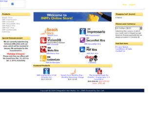 store.inm.com screenshot