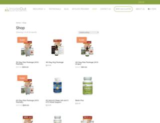 store.insideoutwellness.net screenshot