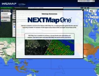store.intermap.com screenshot