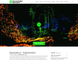 store.introversion.co.uk screenshot