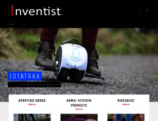 store.inventist.com screenshot