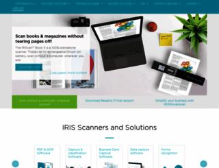 store.irislink.com screenshot