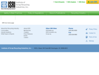 store.isri.org screenshot
