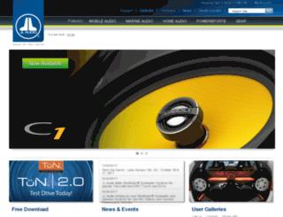 store.jlaudio.com screenshot