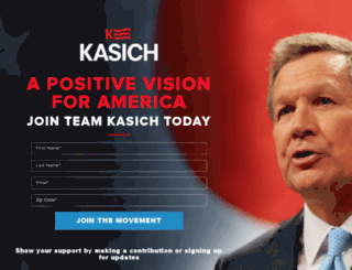 store.johnkasich.com screenshot