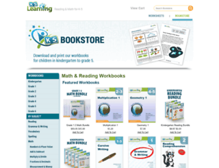 store.k5learning.com screenshot