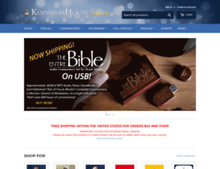 store.khouse.org screenshot