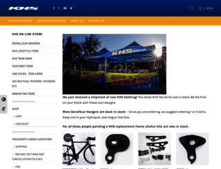 store.khsbicycles.com screenshot