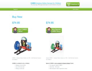 store.kidsflysafe.com screenshot