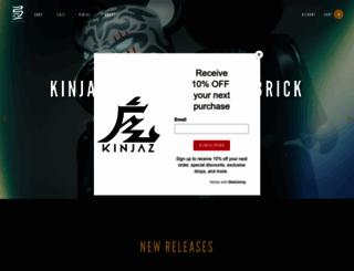 store.kinjaz.com screenshot