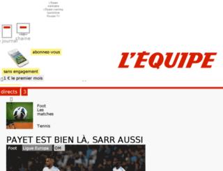 store.lequipe.fr screenshot