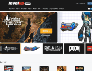 store.levelup.com screenshot