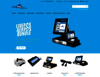 store.livepos.com screenshot