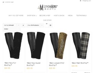 store.llyndamoreboots.com screenshot