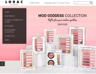 store.loraccosmetics.com screenshot