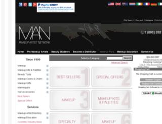 store.makeupart.net screenshot