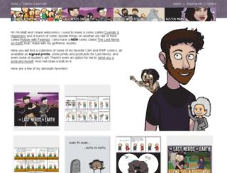 store.mattmelvin.com screenshot
