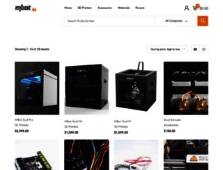 store.mbot3d.com screenshot