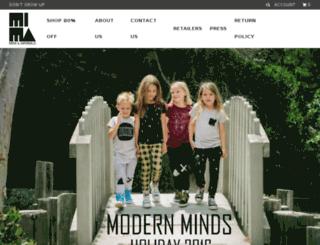 store.miniandmaximus.com screenshot