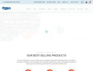 store.namcopoolstore.com screenshot
