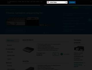 store.nanoporetech.com screenshot