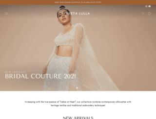 store.neetalulla.com screenshot