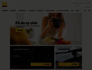 store.nikon.se screenshot