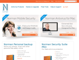 store.norman.com screenshot