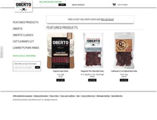 store.oberto.com screenshot