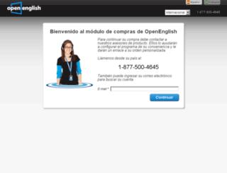 store.openenglish.com screenshot