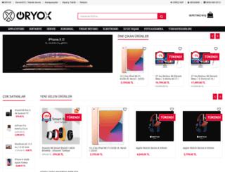 store.oryox.net screenshot