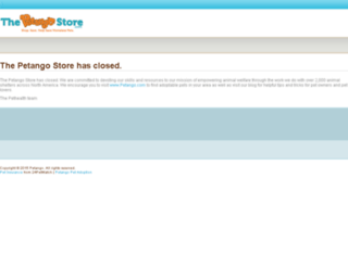 store.petango.com screenshot