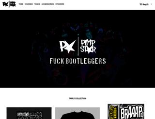 store.pimpstarlife.com screenshot