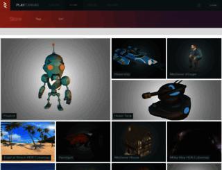 store.playcanvas.com screenshot
