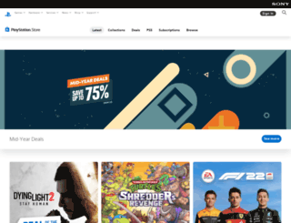 store.playstation.com screenshot