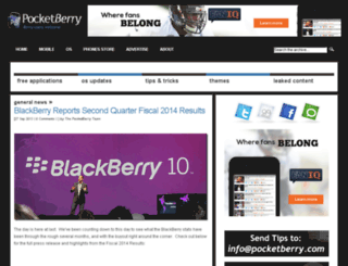 store.pocketberry.com screenshot