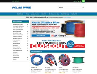 store.polarwire.com screenshot