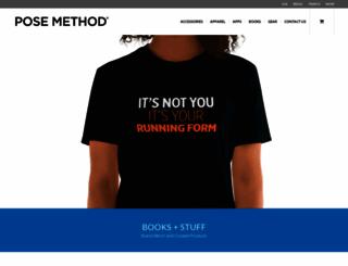 store.posemethod.com screenshot