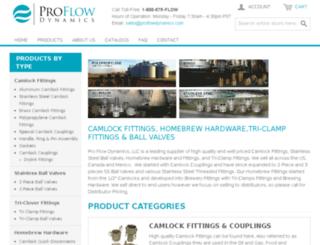 store.proflowdynamics.com screenshot
