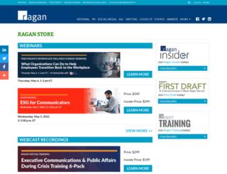 store.ragan.com screenshot