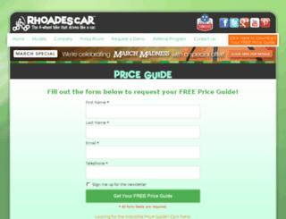 store.rhoadescar.com screenshot
