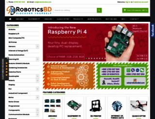 store.roboticsbd.com screenshot
