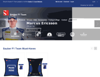 store.sauberf1team.com screenshot