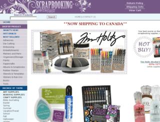 store.scrapbooking-warehouse.com screenshot