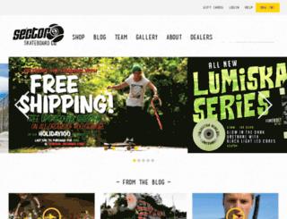 store.sector9.com screenshot