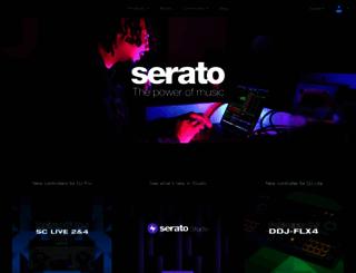 store.serato.com screenshot