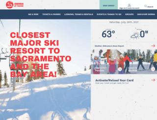 store.sierraattahoe.com screenshot