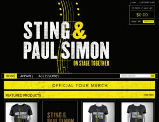 store.simonandstingtour.com screenshot